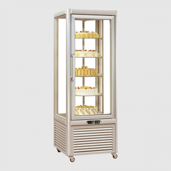 Tecfrigo Prisma 400RS Glass Display Fridge - 400ltr. Image: 3