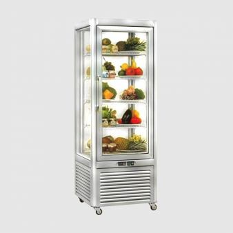 Tecfrigo Prisma 400QS Glass Display Fridge - 400ltr. Image: 2