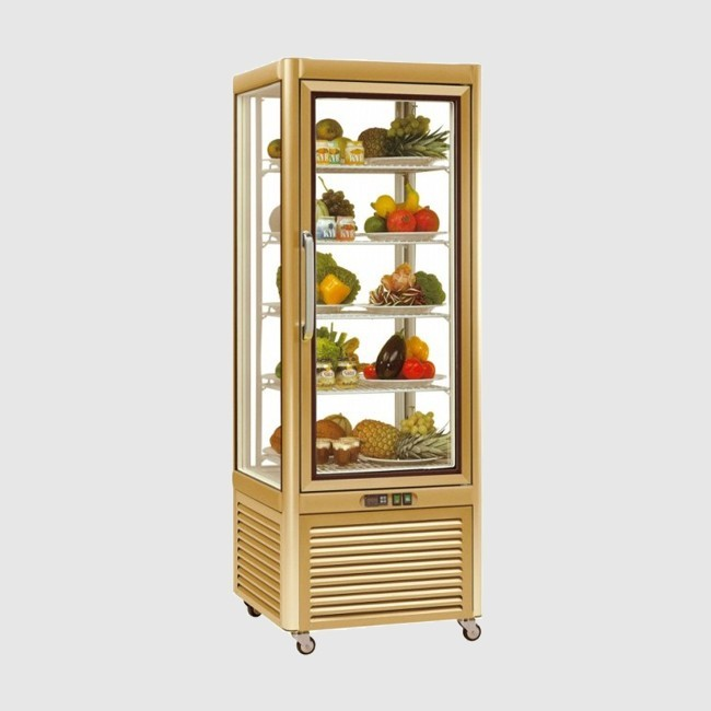 Tecfrigo PRISMA 400QG Gold Cake Display 400 Ltr