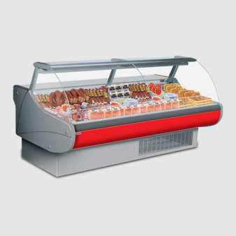 HEMERA Plug-in Meat Serve Over Counter 1250mm Wide. Image: 1