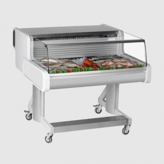 Frilixa CEL10 FISH: Low Glass Fish/Meat Display Counter. Image: 2
