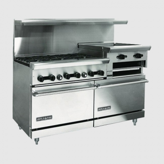 American-Range AR-CE-6B-24RG: Heavy Duty Natural Gas Oven. Image: 4