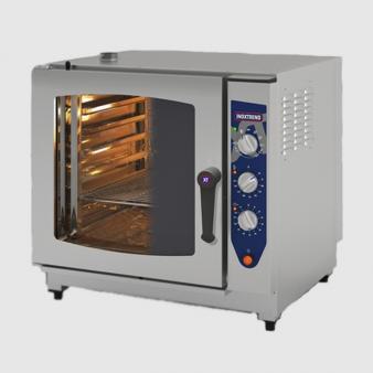 Inoxtrend CDA107E-3PH: 0.8m Wide Combination Oven. Image: 1