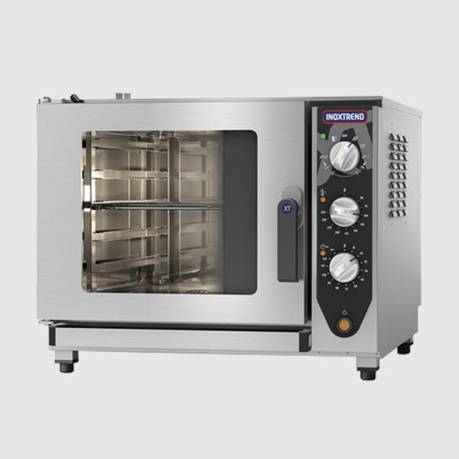 Inoxtrend CDA107E-3PH: 0.8m Wide Combination Oven