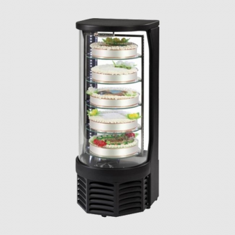 Tecfrigo Goloso Rotating Cake Display 100 Ltr. Image: 2