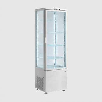 ScanCool 235 Ltr Single Glass Door Cake Display Fridge RTC 236. Image: 1