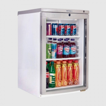 Tefcold BC85: Under Counter Glass Door Chiller 92 Ltr. Image: 3