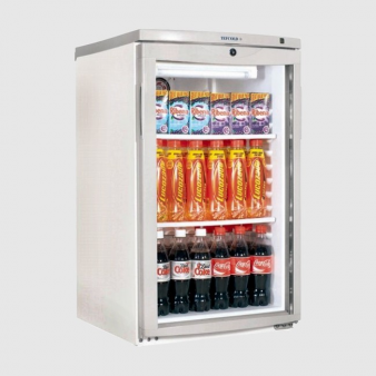 Tefcold BC145 Under Counter Glass Door Chiller 109 Ltr. Image: 4