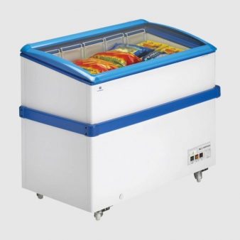 Arcaboa VCL320 Hinged Curved Glass Lid Chest Freezer 290 Ltr. Image: 4
