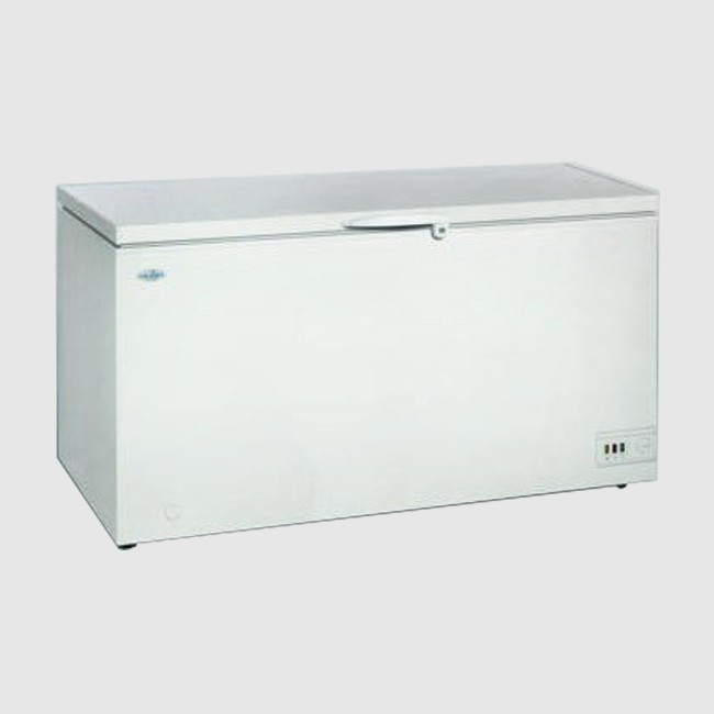 ScanCool 458 Ltr Solid Lid Chest Freezer: SB 551 A+